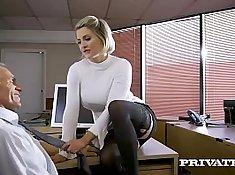 British Babe Channel My Boss - Dirty-boobies