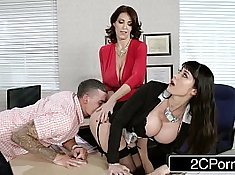 Family Two 3some Sex for Teacher