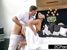Wife fucked and ass caged