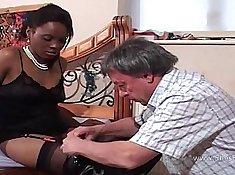 Black guy strokes white pussy Alyssa is a very lusty gal