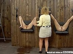 two girls fucking in close role shot