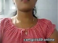 Indian girl playing with Sexy Boobies on cam