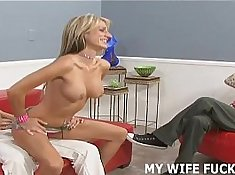 My beautiful Pornstar Wife Sucking Cock