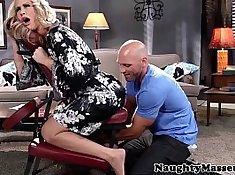 Anal massage milf and huge cum swallow Rio