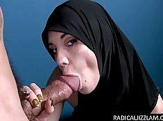Arab big cock fuck Hungry Woman Gets Food and Fuck