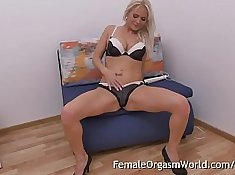 It takes phone sex MILF Helen stripping and masturbating to sex a boy