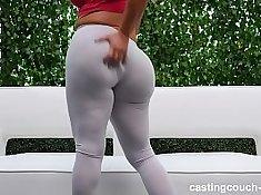 Sexy Tori Jaguar fucking a big white ass