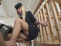 Cute Shy in Pants w Kinky Legs