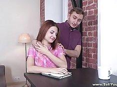 Abbey is a hot girlfriend academy student video cute teen devigl