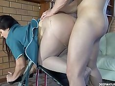 Russian MILF Loves Anal during Dave