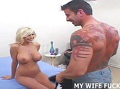 Lither Davis fucks Pornstar wife