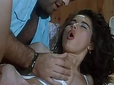 Sexy courtesans torched with baits for sexual stimulation