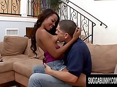 Nursing Black pussy sucked by White cock
